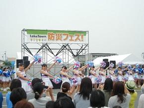 チアダンスの演技