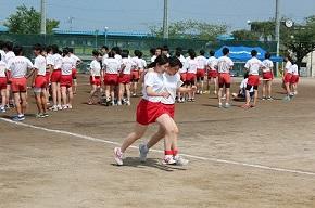 体育祭の予行