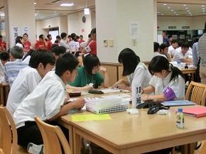 第40回全国高等学校総合文化祭広島大会(新聞部門)の様子