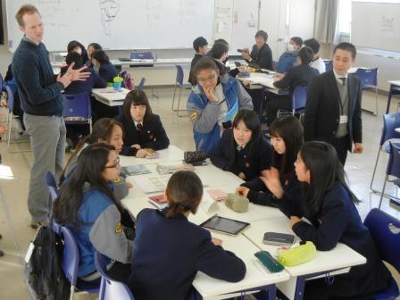 外国語科での授業の様子