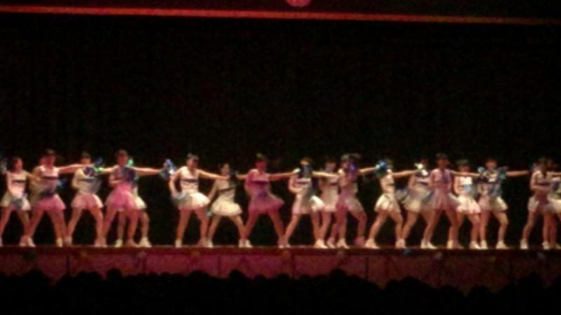 応援団部のチアダンス