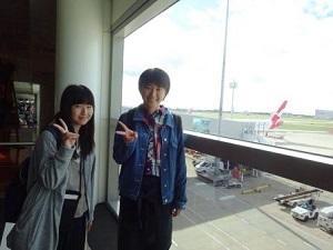 これから日本へ帰ります。